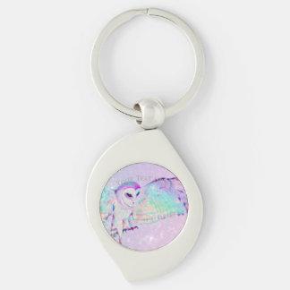 Majestic Owl Keychain