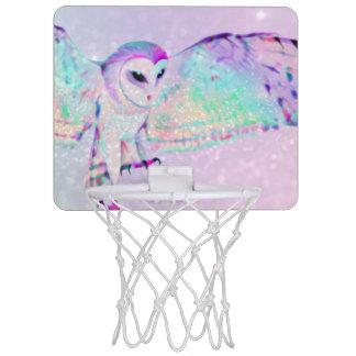 Majestic Owl Mini Basketball Hoop