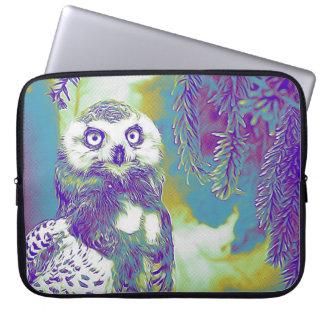 Majestic Owl on Snowy Branch Case