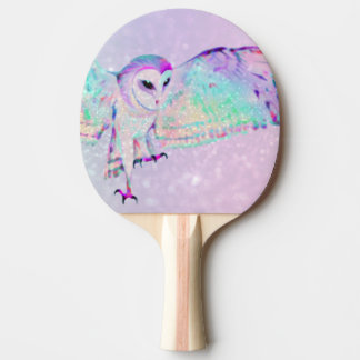 Majestic Owl Ping Pong Paddle