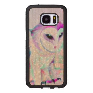 Majestic Owl Wood Samsung Galaxy S7 Case