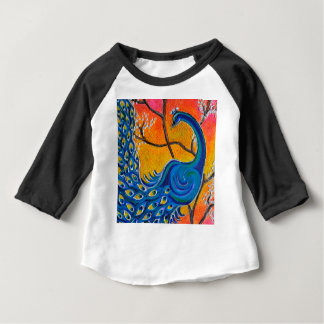 Majestic Peacock Baby T-Shirt