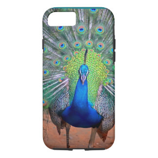 majestic peacock,colorful,pretty,adorable colors iPhone 7 case