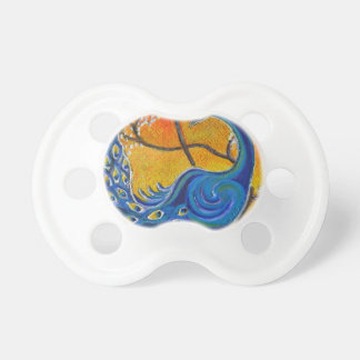Majestic Peacock Pacifier