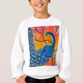Majestic Peacock Sweatshirt