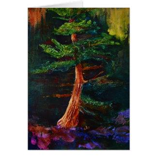 Majestic Pine Tree Art Card
