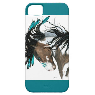 Majestic Pinto Horse by Bihrle iPhone 5 Case