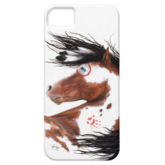 Majestic Pinto Paint Horse By BiHrLe Cell Case