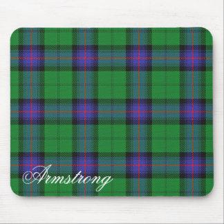 Majestic Scottish Clan Armstrong Tartan Mouse Pad