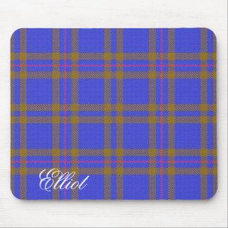 Majestic Scottish Clan Elliot Tartan Mouse Pad