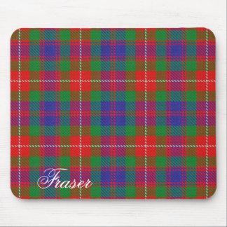 Majestic Scottish Clan Fraser of Lovat Tartan Mouse Pad