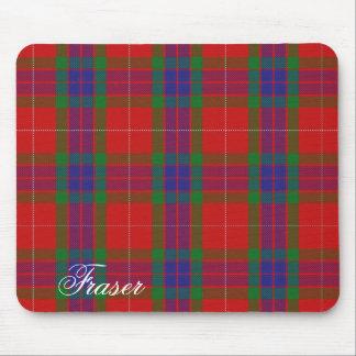 Majestic Scottish Clan Fraser Tartan Mouse Pad