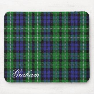 Majestic Scottish Clan Graham Tartan Mouse Pad