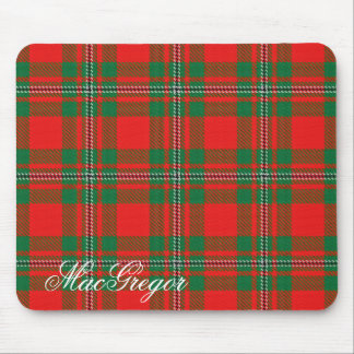 Majestic Scottish Clan MacGregor Gregor Tartan Mouse Pad