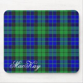 Majestic Scottish Clan MacKay Tartan Mouse Pad