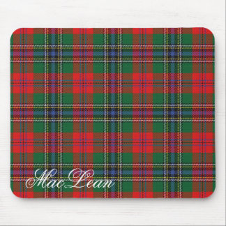 Majestic Scottish Clan MacLean Tartan Mouse Pad