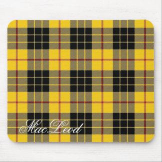 Majestic Scottish Clan MacLeod of Lewis Tartan Mouse Pad