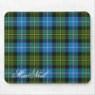 Majestic Scottish Clan MacNeil Tartan Mouse Pad