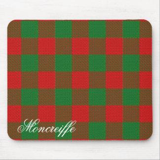 Majestic Scottish Clan Moncreiffe Tartan Mouse Pad