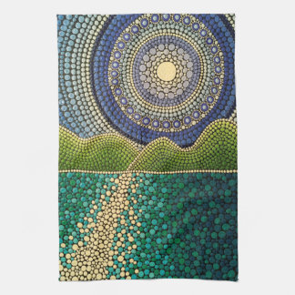 Majestic Sky Kitchen Towel