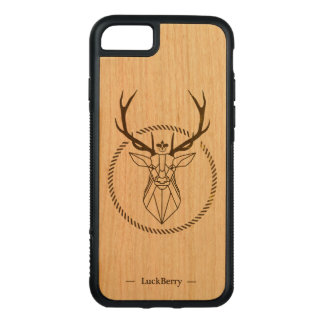 Majestic stag carved iPhone 8/7 case