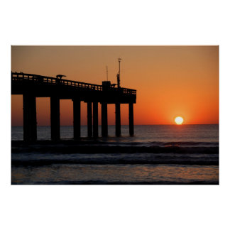 Majestic Sunrise St. Augustine Beach Florida Poster