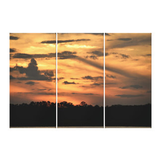 Majestic Sunset Canvas Print