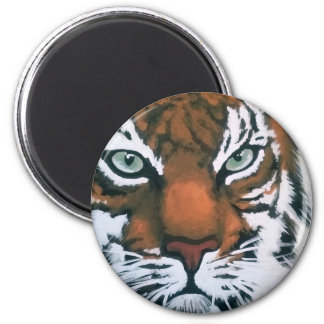 Majestic Tiger 2 Inch Round Magnet