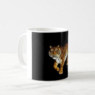 Majestic Tiger on the Prowl Coffee Mug