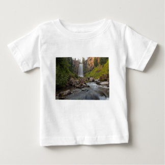 Majestic Tumalo Falls in Central Oregon USA Baby T-Shirt