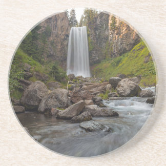 Majestic Tumalo Falls in Central Oregon USA Coaster