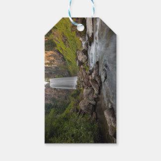 Majestic Tumalo Falls in Central Oregon USA Gift Tags