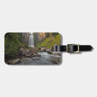 Majestic Tumalo Falls in Central Oregon USA Luggage Tag