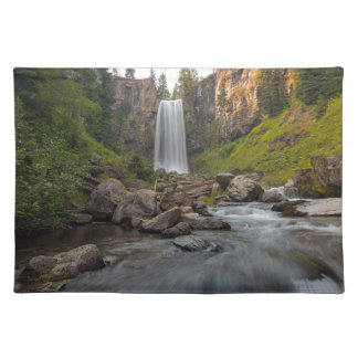 Majestic Tumalo Falls in Central Oregon USA Placemat