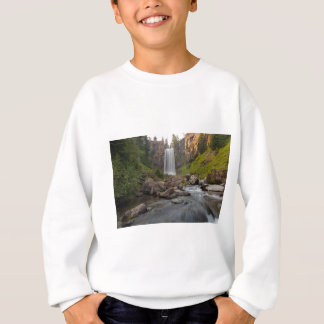 Majestic Tumalo Falls in Central Oregon USA Sweatshirt