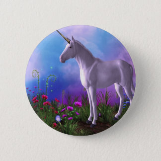 Majestic Unicorn 2 Inch Round Button