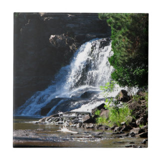 Majestic Waterfall at Gooseberry Falls – Nature Tile