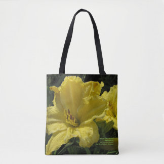 Majestic Yellow Daylilies Tote Bag