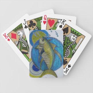 Majestic yellow fin Tunas Bicycle Playing Cards