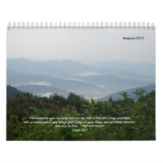 Majesty-2011 Wall Calendar