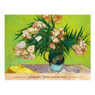 Majolica Jar Branches Oleander Vincent van Gogh Postcard