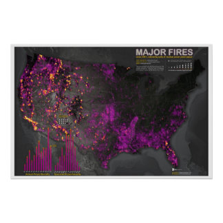 Major Fires Since 2001 Poster