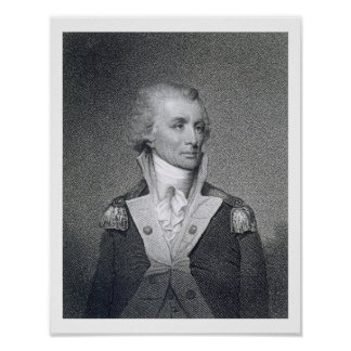 Major General Thomas Sumter (1734-1832) engraved b Poster