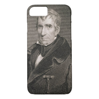 Major General William Henry Harrison, engraved by iPhone 7 Case