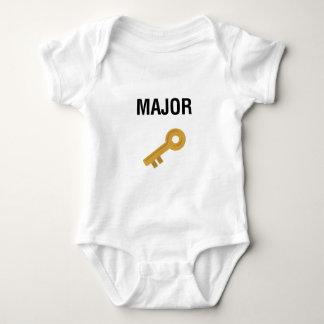 Major Key Baby Bodysuit