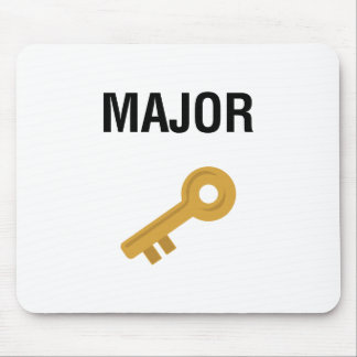 Major Key Mouse Pad