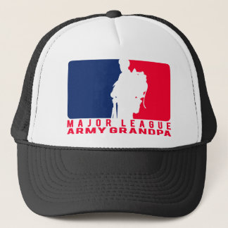 Major League Army Grandpa Trucker Hat