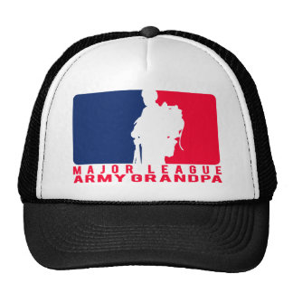 Major League Army Grandpa Trucker Hat