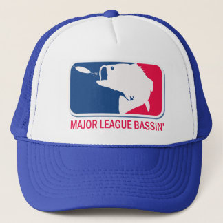 Major League Bassin Largemouth Bass Angler Trucker Hat