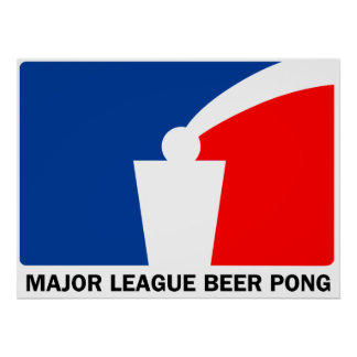 Major League Beer Pong Poster